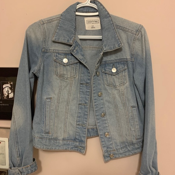 ardene jean jacket